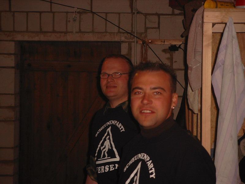 Scheunenparty 2004 01