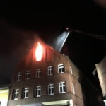 Dachstuhlbrand Hotel Westfälischer Hof in Nieheim 02.03.2017